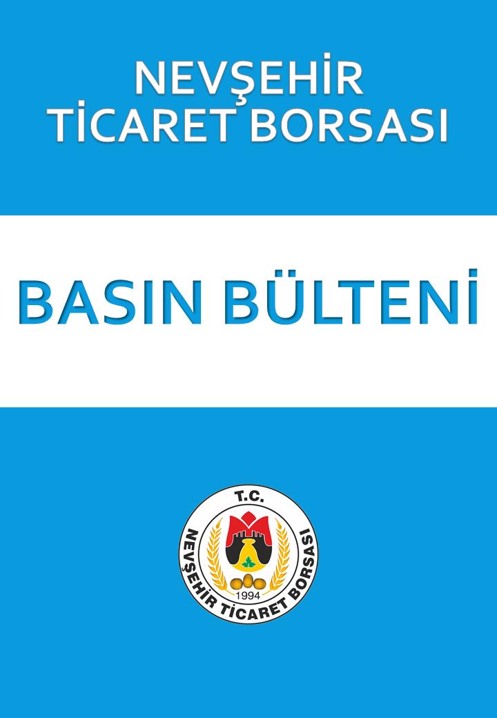 24 Nisan 2020 NEVŞEHİR TİCARET BORSASI'NDAN NEFES KREDİSİ MÜJDESİ...