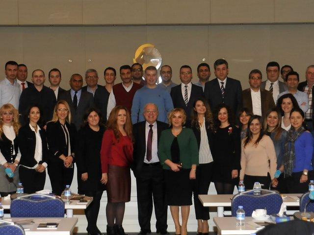 Nevşehir Ticaret Borsası Personeli Kurumsal Gelişim Eğitimi'ne Katıldı.