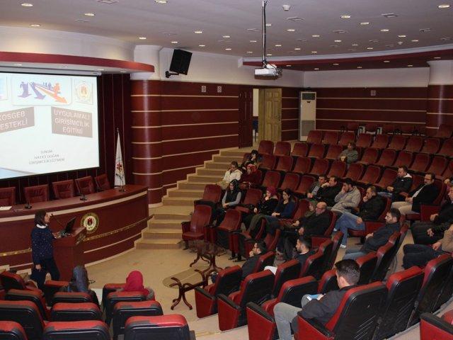 5.cisi Düzenlenen  Kosgeb Destekli Girişimcilik Eğitimi Başladı.