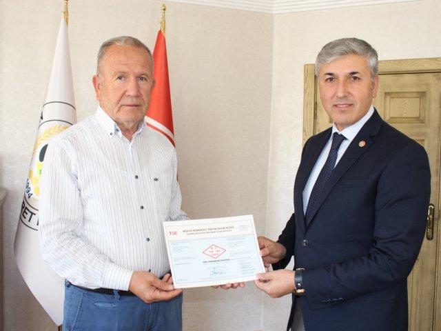 Nevşehir Ticaret Borsası Hizmet Kalitesi Belgelendirdi