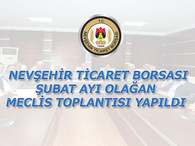 NTB Şubat Ayı Olağan Meclis Toplantısı Yapıldı