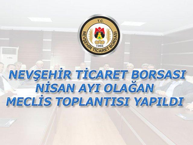 NTB Nisan Ayı Olağan Meclis Toplantısı Yapıldı
