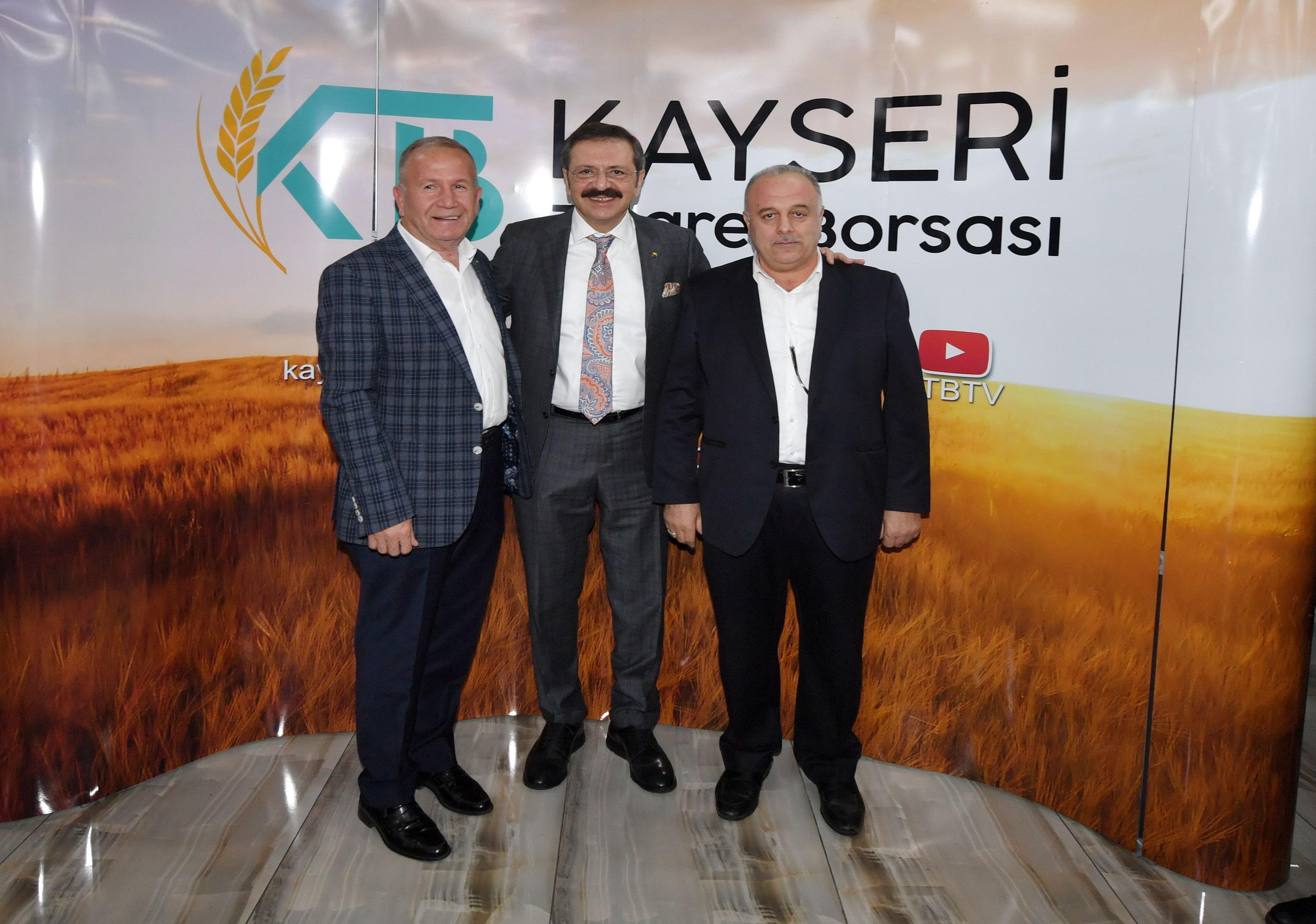 Nevşehir İş Dünyası, Kayseri'de Bölge İstişare Toplantısına Katıldı