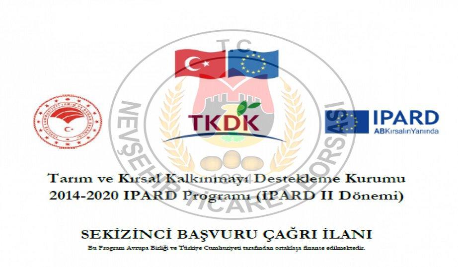 IPARD II Programı 8.Başvuru Çağrı İlanı Bilgilendirme Toplantısı NTB'de yapılacak