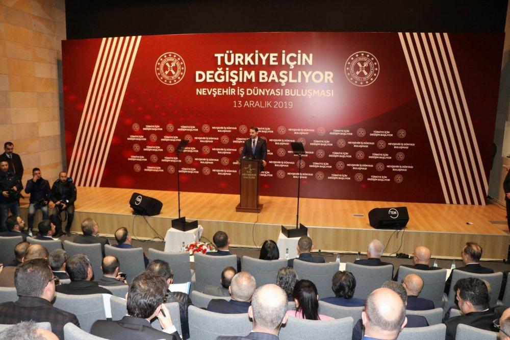 Başkan Salaş Nevşehir İş Dünyası Buluşması Toplantısı'na katıldı