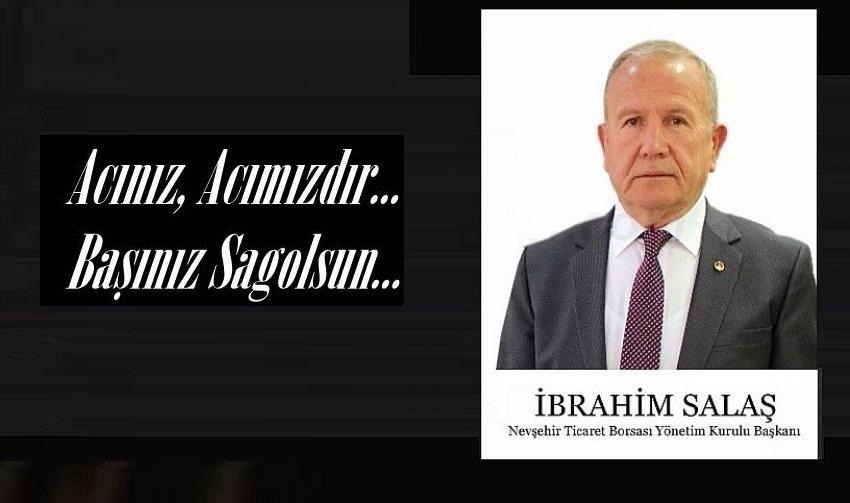 Başkan Salaş'dan Milletvekili Açıkgöz'e Taziye Mesajı