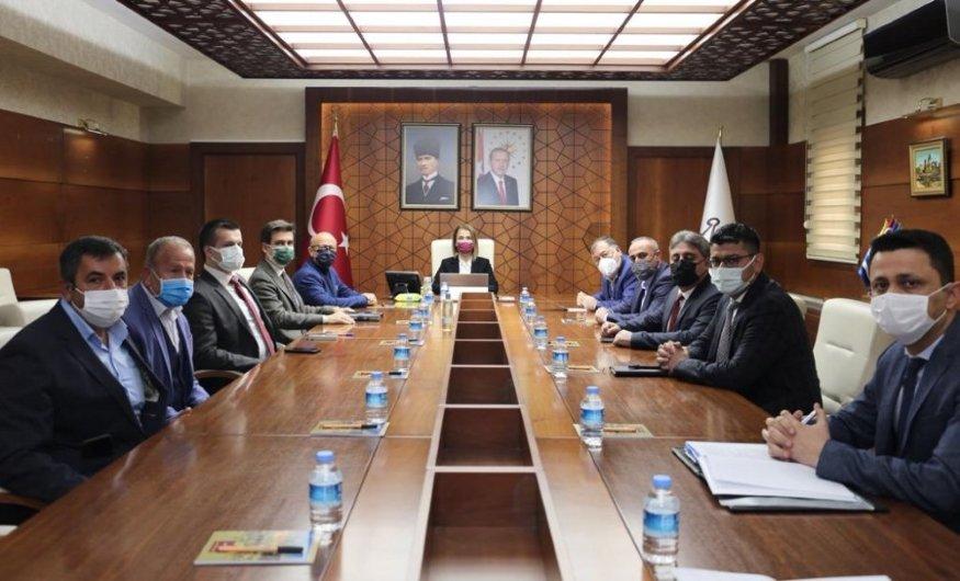 Salaş, Kozaklı Tarıma Dayalı İhtisas Sera OSB Değerlendirme Toplantısı'na katıldı