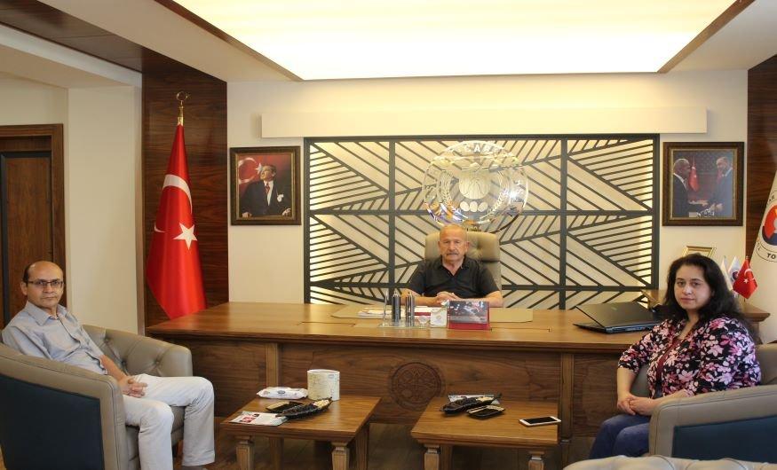 TOBB Akademik Danışmanımız Doç.Dr.Serap Çoban ile değerlendirme toplantısı yapıldı