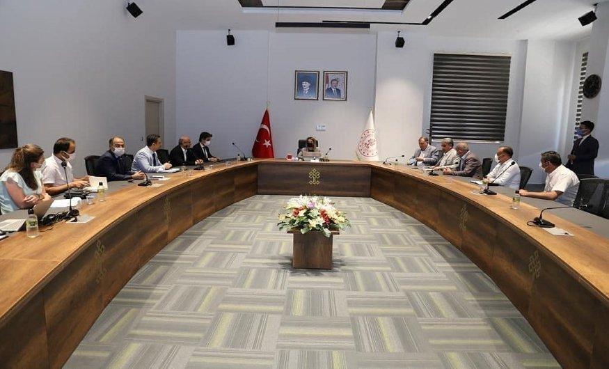 Başkan Salaş, Kozaklı Sera Organize Sanayi Bölgesi toplantısına katıldı