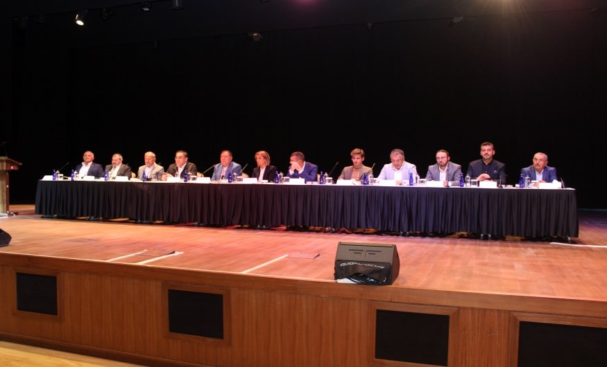 """NTSO, NTB Ve ÜTSO """"Demokrasi Ve Özgürlükler Adası""""nda Odalar Borsalar Müşterek Toplantısı İçin Biraraya Geldi"""