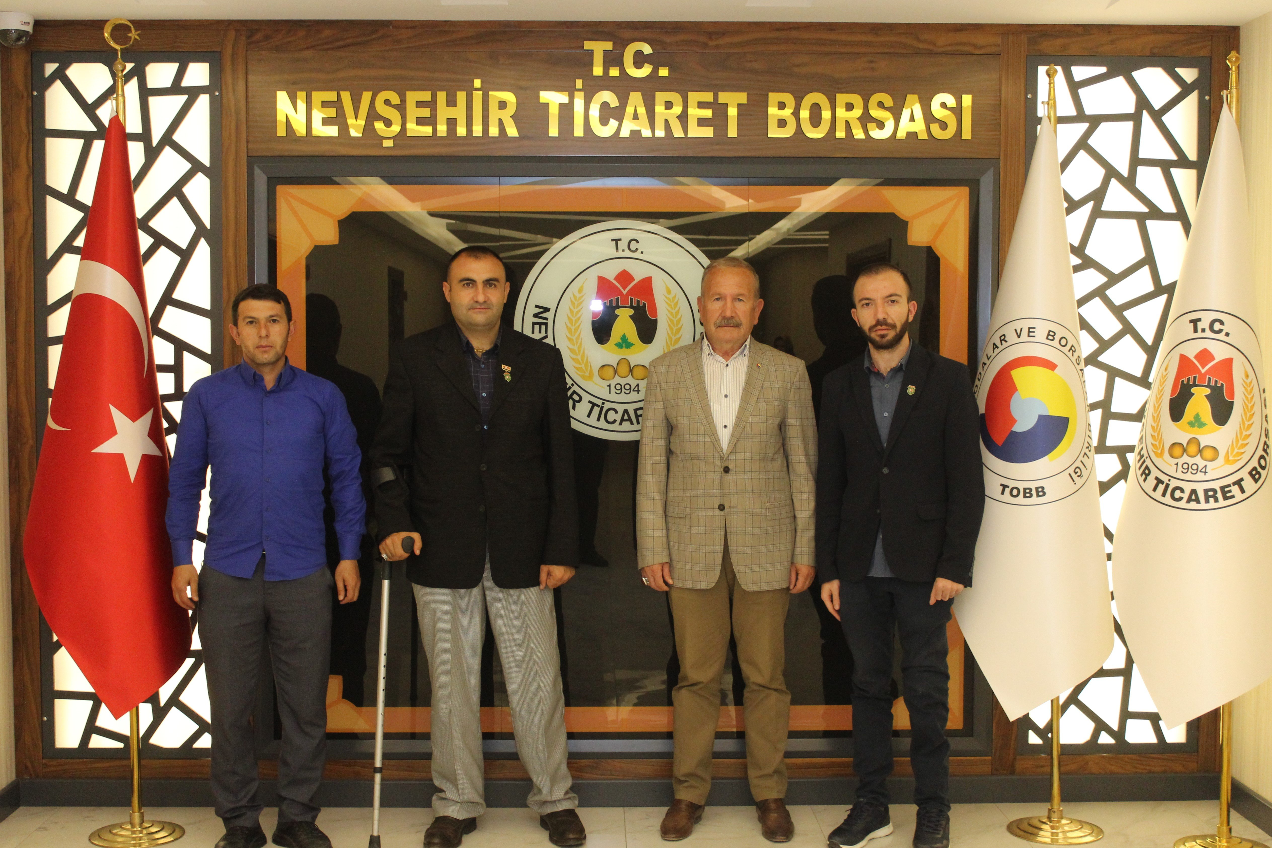 Nevşehir İl Temsilcisi Didinmez ve yönetiminden Salaş'a Ziyaret