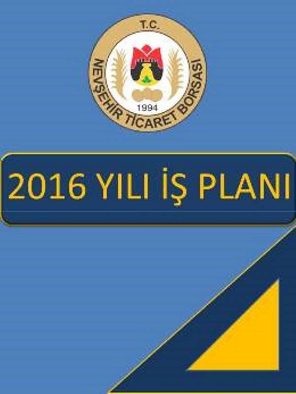 İŞ PLANI 2016
